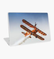 Breitling Wing Walker handstand Laptop Skin