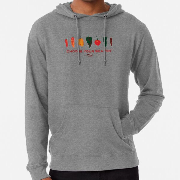 Choose Your Weapon Hot Peppers  Lightweight Hoodie