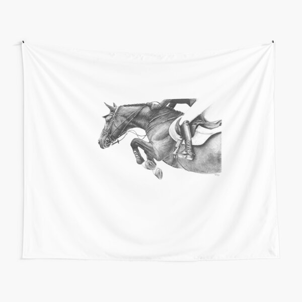 Flick - Showjumping Horse Tapestry