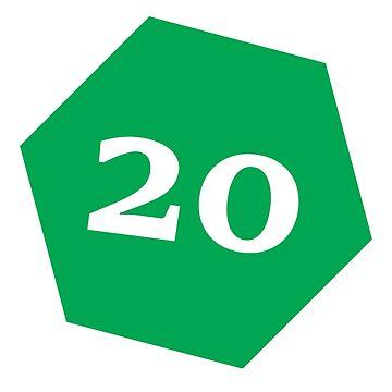 D20 - Green by coolbruiser