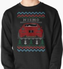 Ugly Sweater Christmas Nissan 350Z Z33 (Red) Pullover