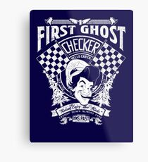 First Ghost Cab Co Metal Print