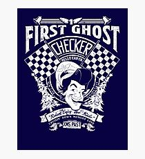 First Ghost Cab Co Photographic Print