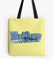 Matthew with Blue Angels Tote Bag