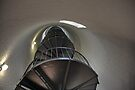 Inside the lighthouse by Bill Wetmore