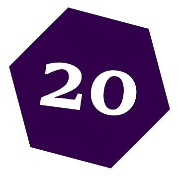 D20 - Purple by coolbruiser