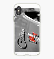 Dodge Challenger R / T - Abzeichen Detail iPhone-Hülle & Cover