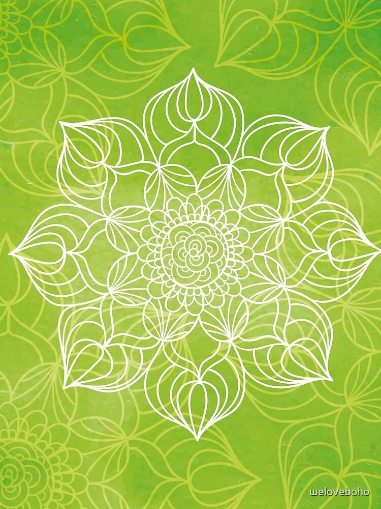 Lime mandala de weloveboho