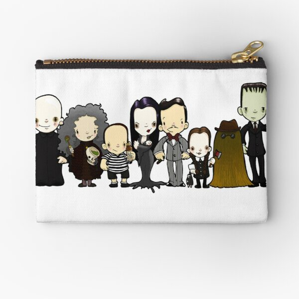 They're creepy and they're kooky Zipper Pouch