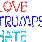 love trumps hate safetypin by Thelittlelord