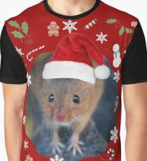 Happy Christmouse Graphic T-Shirt