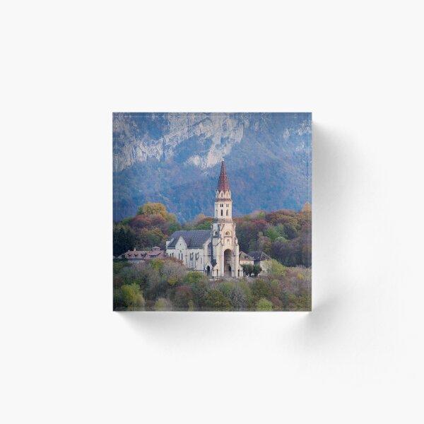 Visitation Basilica in Annecy Acrylic Block