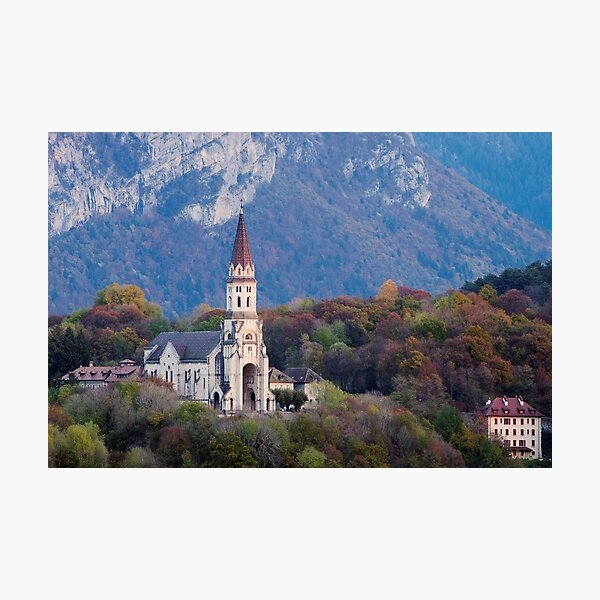 Visitation Basilica in Annecy Photographic Print