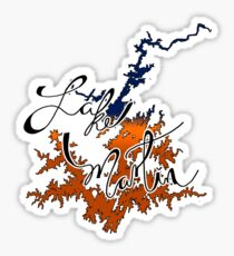 Lake Martin Alabama Auburn Sticker