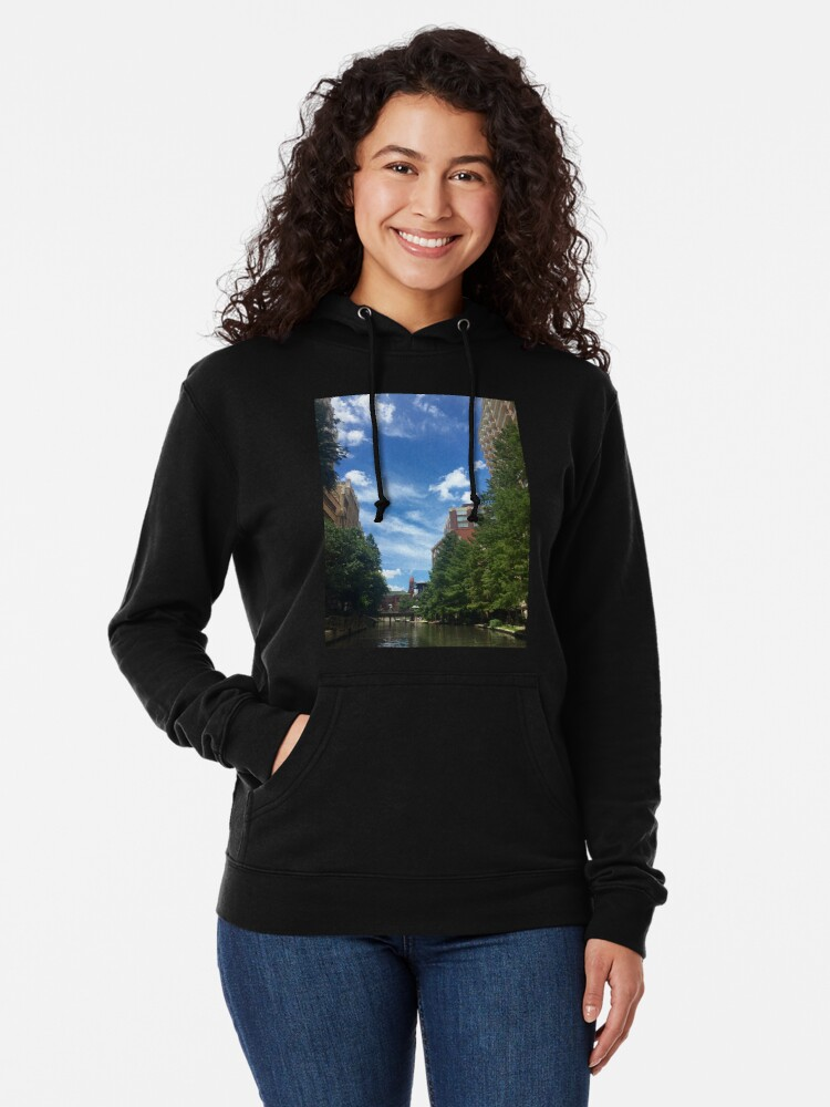 Alternate view of River walk  Lightweight Hoodie