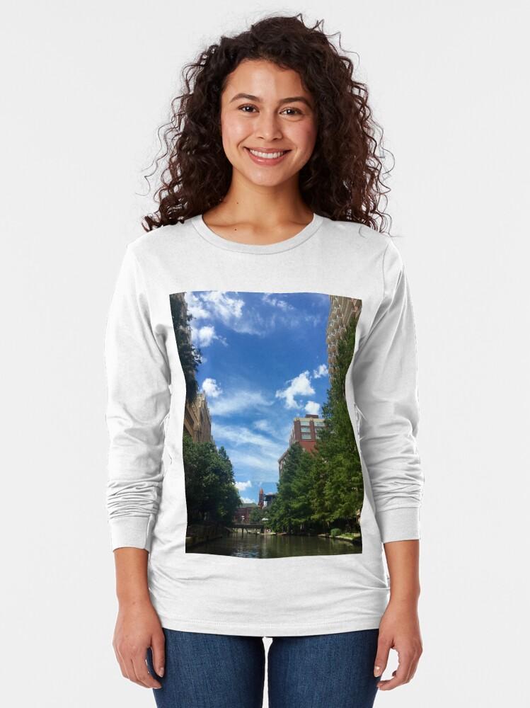 Alternate view of River walk  Long Sleeve T-Shirt
