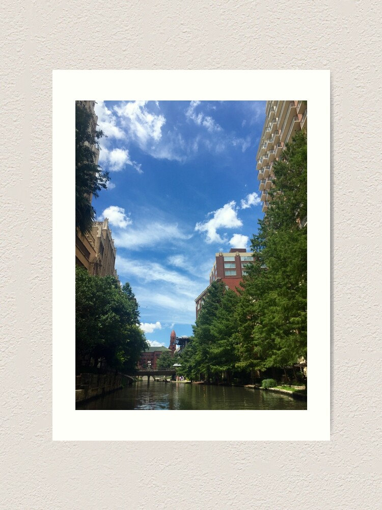 Alternate view of River walk  Art Print