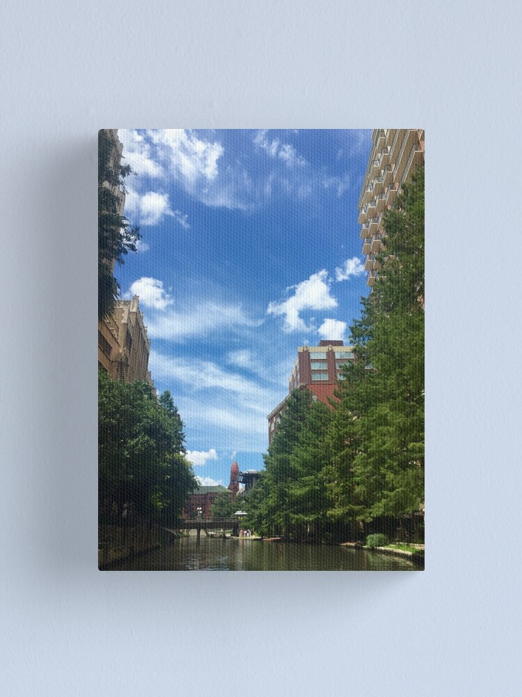 Alternate view of River walk  Canvas Print