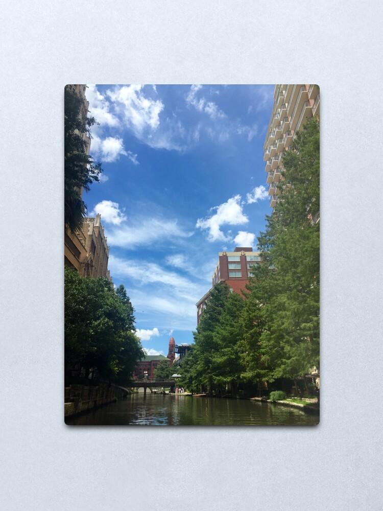 Alternate view of River walk  Metal Print