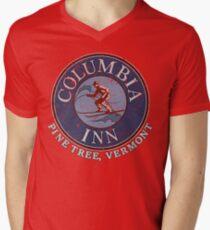 Columbia Inn, Pine Tree Vermont Men's V-Neck T-Shirt