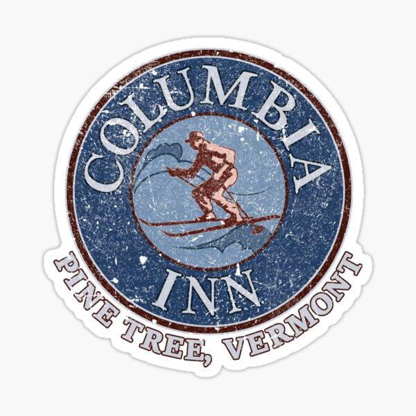 Columbia Inn, Pine Tree Vermont Sticker