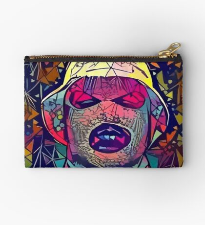 Abstract Oxymoron Zipper Pouch