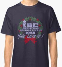 IBC Christmas Line Up Classic T-Shirt