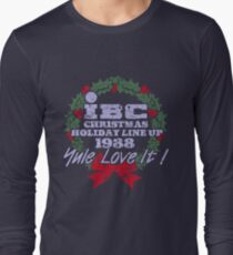IBC Christmas Line Up Long Sleeve T-Shirt