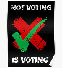 Not Voting Is Voting  Poster