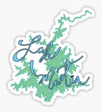 Lake Martin Alabama Sticker