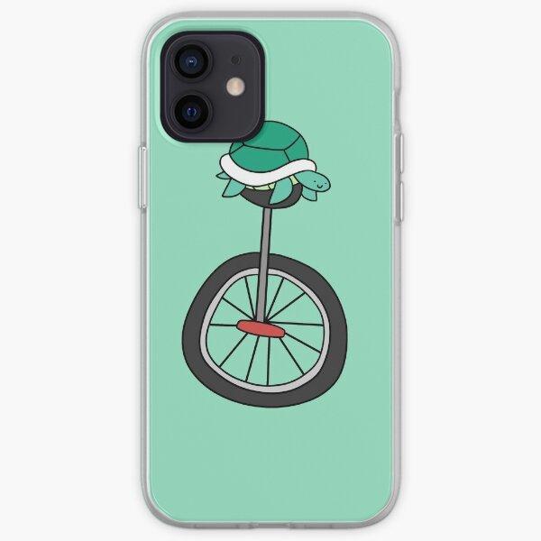 Unicycle Turtle iPhone Soft Case