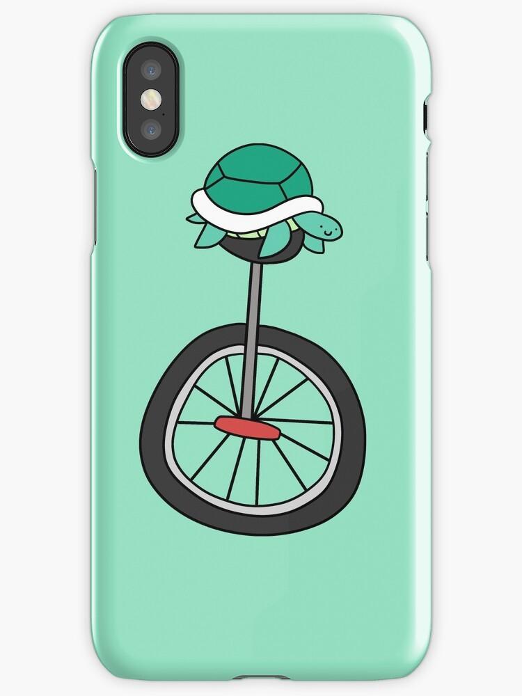 Unicycle Turtle by SaradaBoru
