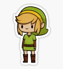 Cartoon Link Sticker