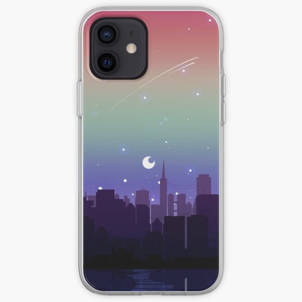 Gay Pride Cityscape iPhone Soft Case