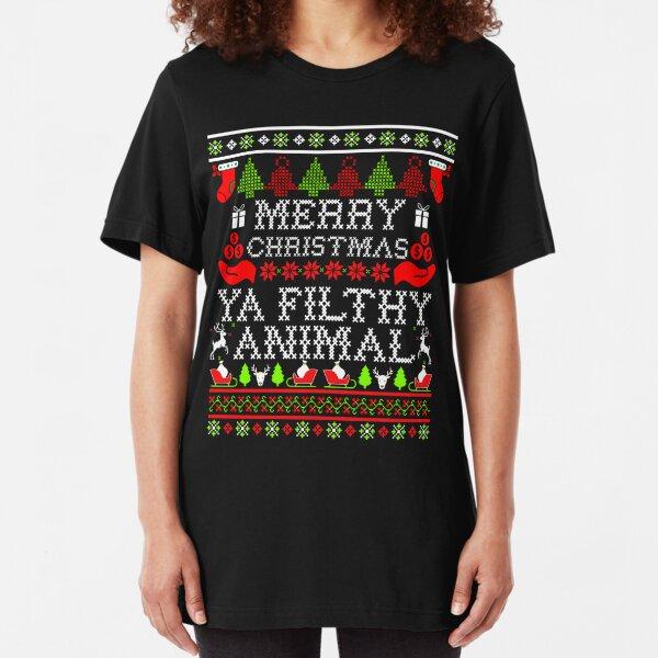 Merry Christmas Shining Night Stars Hoodie Sweatshirt