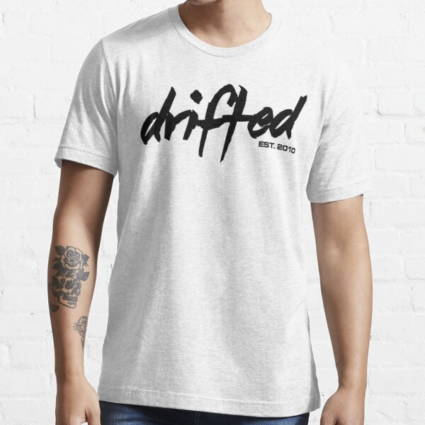 Drifted Classic Tee - White Essential T-Shirt