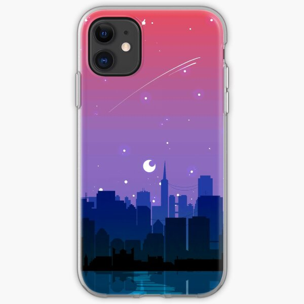 Bisexual Pride Cityscape iPhone Soft Case