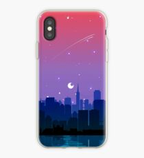 Bisexual Pride Cityscape iPhone Case