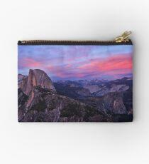 Sunsent: Glacier Point, Yosemite, CA., 15 June 2014 Studio Pouch