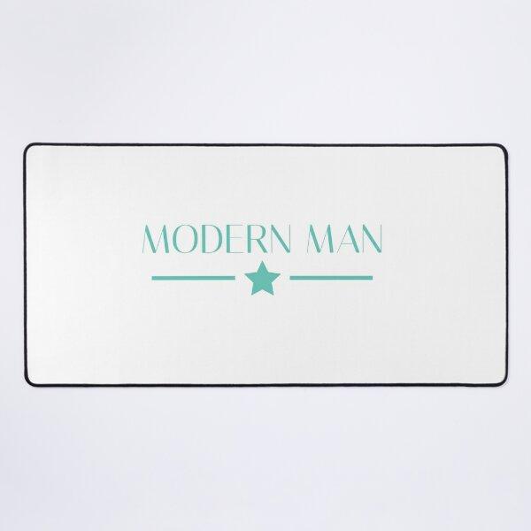 Modern man Desk Mat