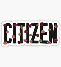 Citizen  Sticker