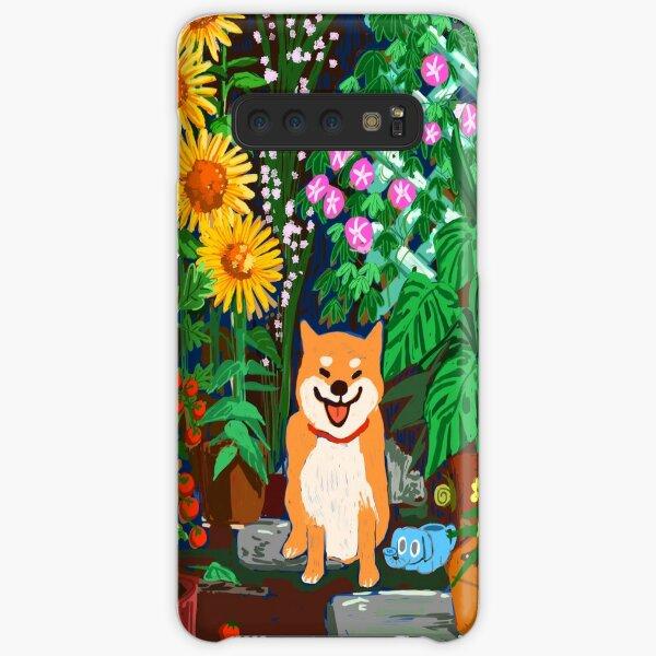 Shiba in a Garden Samsung Galaxy Snap Case