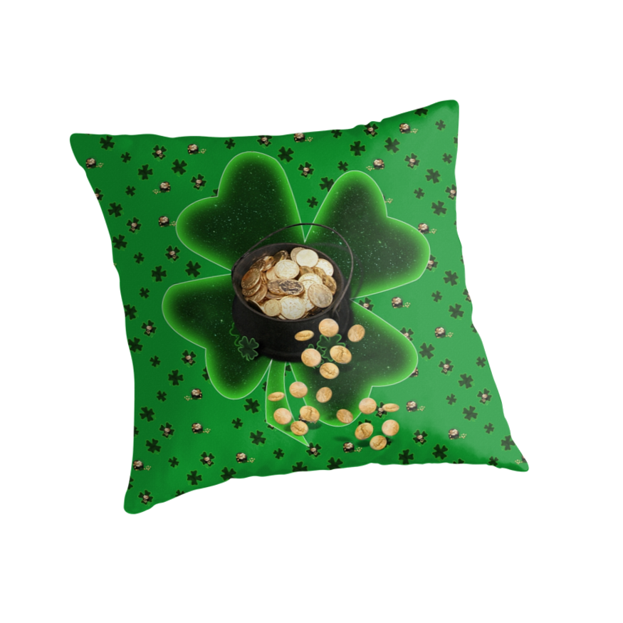 Shamrocks and Pots of Gold by Gravityx9