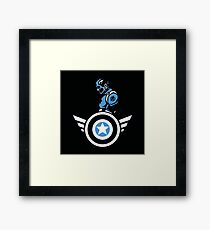 Marvels: Captain America  Framed Print