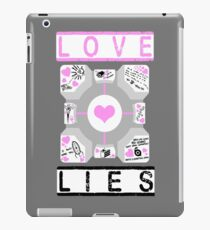 It will never threaten to stab you iPad Case/Skin