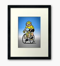 Cyclist - Cycling Framed Print