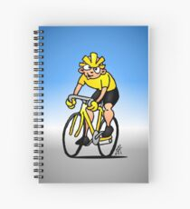 Cyclist - Cycling Spiral Notebook