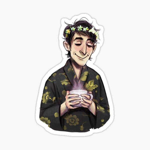 Calm Ozzie Sticker
