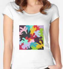 Puzzle Women's Fitted Scoop T-Shirt