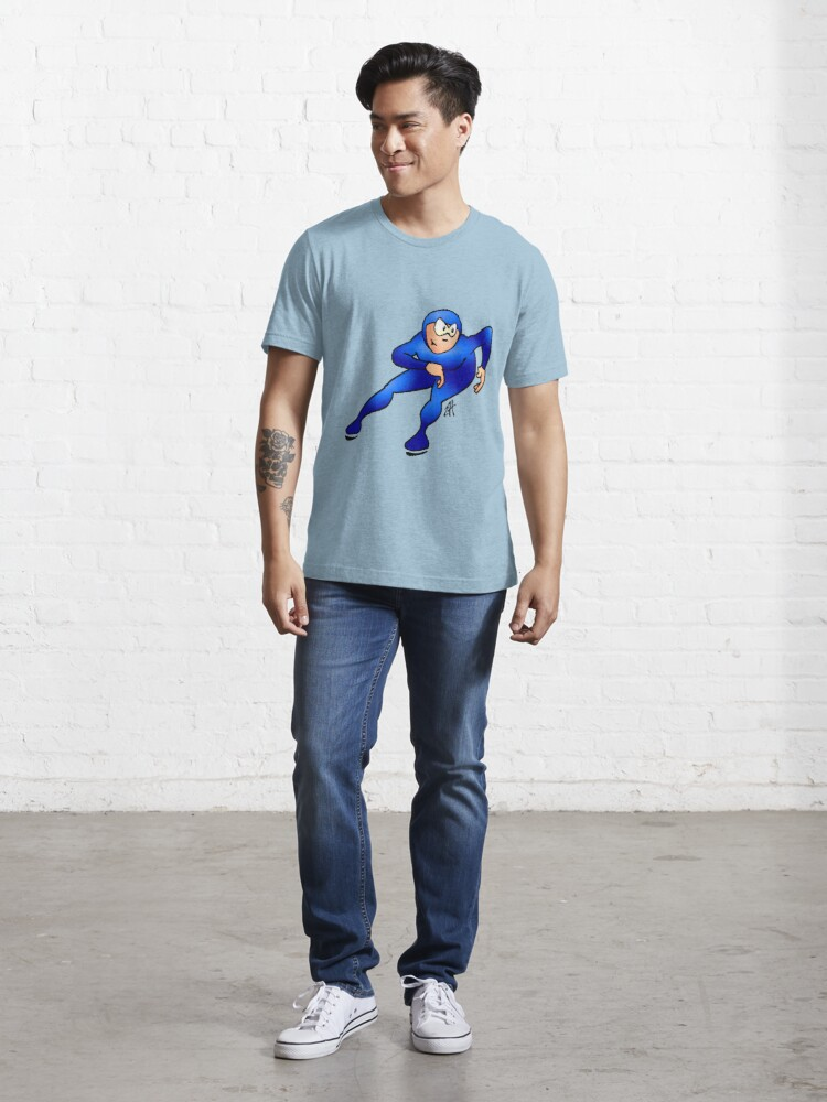 Alternate view of Speed Skater Essential T-Shirt